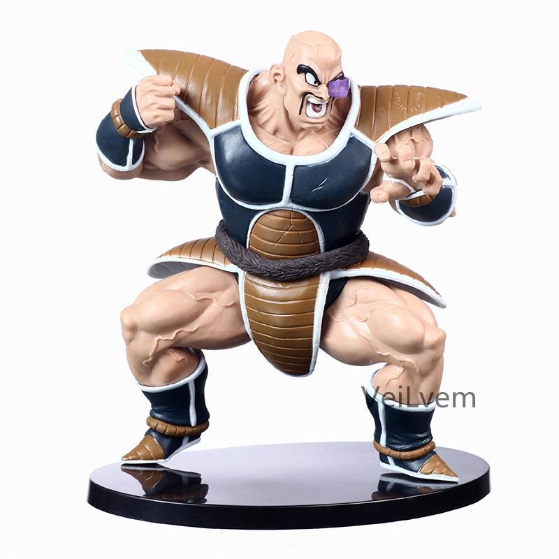 14cm Anime Dragon Ball Z Nappa Raditz First Coming Ver.Action Figure DBZ Goku Brother PVC Collection Model