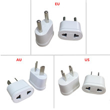 5 Pcs Au Us Eu Kr Plug Adapter Japan Cn Ons Eu Euro Travel Adapter Ac Elektrische Plug Converter power Adapter Oplader Socket