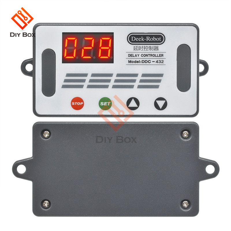 DC12V Einstellbares Zyklus-Schleifen-Verzögerungs-Timer-Zeitrelais-SchalterCP