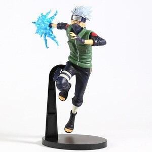 Image 5 - Naruto Shippuden Vibration Stars Hatake Kakashi Lightning Cutter Ver. Figura de PVC, figura coleccionable, modelo de juguete