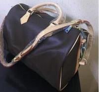 2019 new fashion high quality women speedy handbag Pillow bag 30/35cm with starp FREE SHIPPING