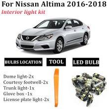 8 лампочек светодиодный автомобильный купольный светильник комплект