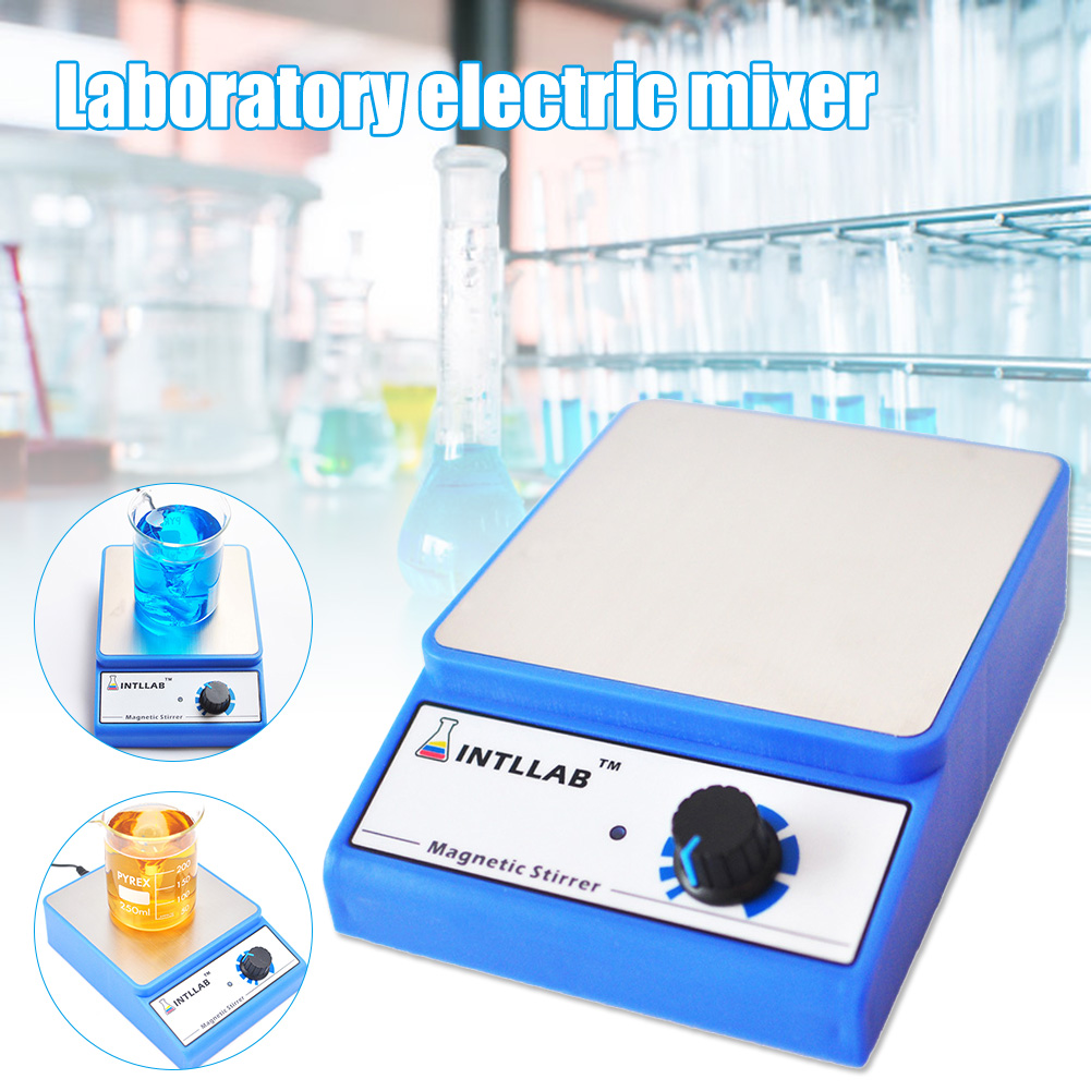 Magnetic Stirrer Stainless Steel Magnetic Mixer with Stir Bar 3000mL Laboratory Equipment Lab Experiment New Arrival