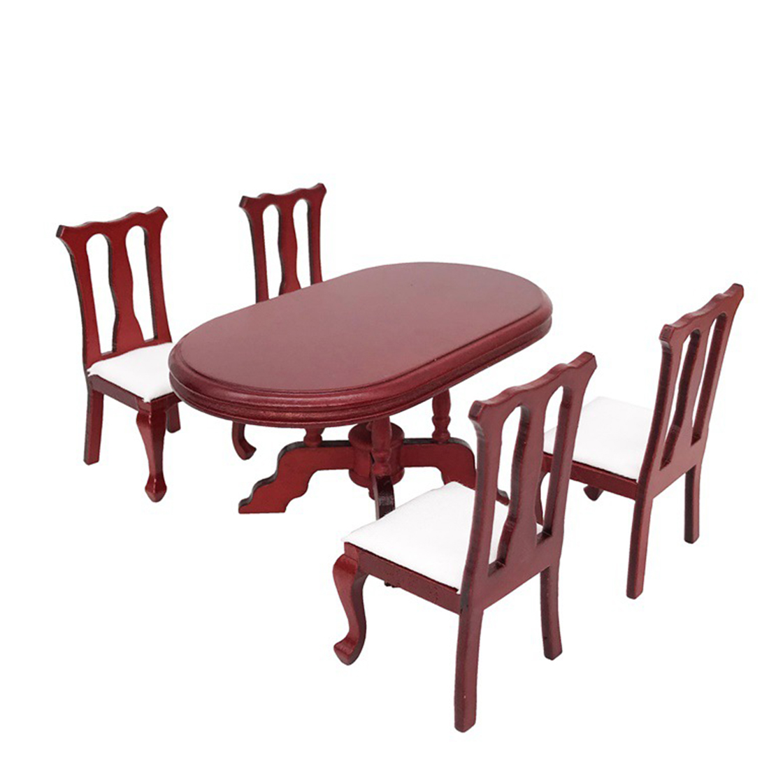 """Dollhouse miniature furniture plastic /""""S/"""" shape chair baby toys for baby play ju"""