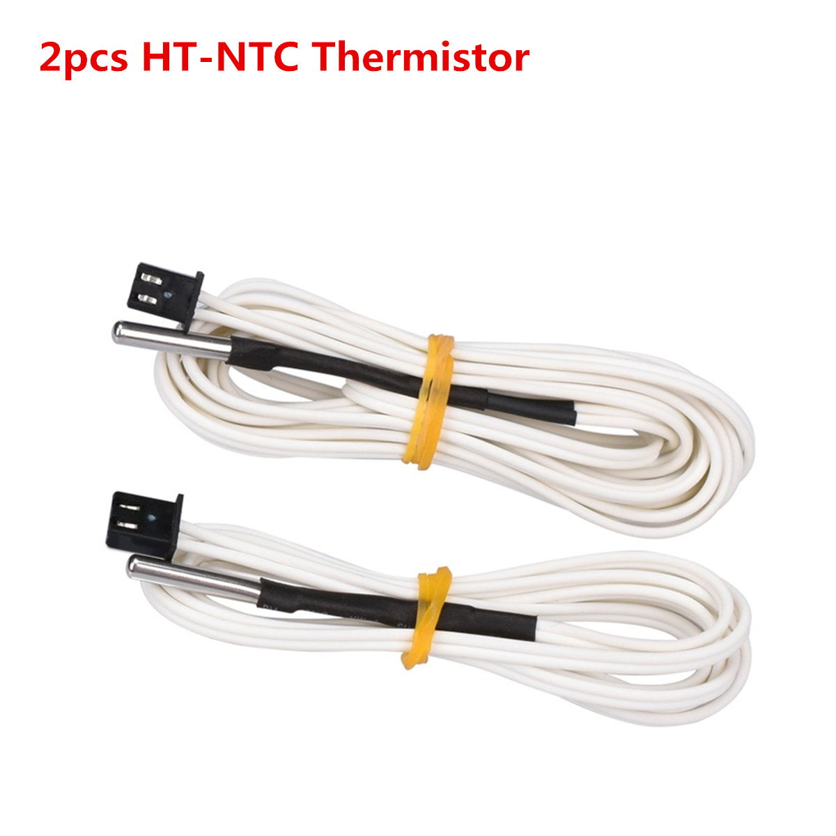 2pcs NTC 100k 3d Printer Heater Resistance B3950 Temperature Sensor Hotend Probe Thermistor HT-NTC100K Feeler Pin Temp Needle