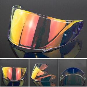 Image 5 - Motorcycle Helmet Visor for X14 Z7 CWR RF1200 Xspirit Full Face X14 Helmet Visor Casco Moto Windshield Capacete Accessories