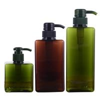 500ML Shampoo Pumpe Flasche Make Up Bad Flüssigkeit Shampoo Flasche Reise Dispenser Flasche Container Für Seife Dusche Gel-in Tragbare Seifenspender aus Heim und Garten bei