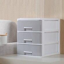 3 слоя шкаф для хранения макияжа шкаф для хранения ящиков настольный шкаф для хранения стол файл Отделка Коробка для хранения для дома