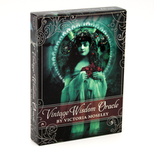 Infused Oracle-Cards Beauty Vintage Goddesse Illustrated Inspiration with Victoria by