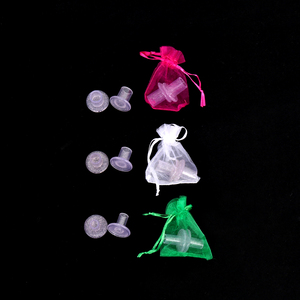 Image 2 - 70 par/lote de cubiertas de silicona para tacón alto, Protector DE PLÁSTICO para zapatos, protectores de tacón alto para césped, Kit de cuidado de zapatos para fiesta de boda