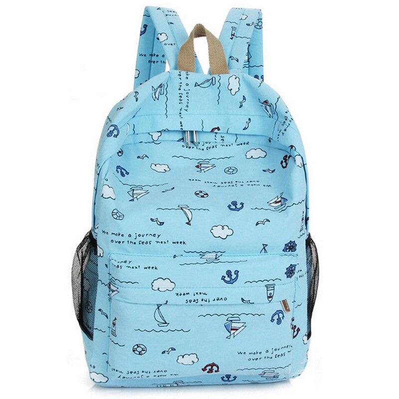 Милый рюкзак для девочек с мультяшным принтом, Детская сумка, модная новая портативная дорожная сумка через плечо, Рюкзак Kawaii