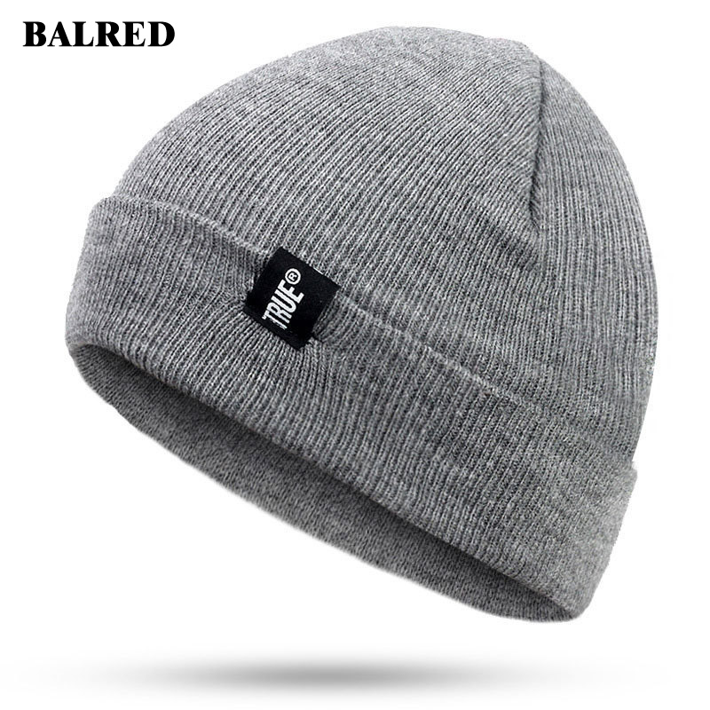 Winter Cap Men Cap Striped Knitted Cap Candy Outdoor Hip-hop Cap Autumn And Winter Cap Men's Hats Gorras Para Hombre Beanie Hat