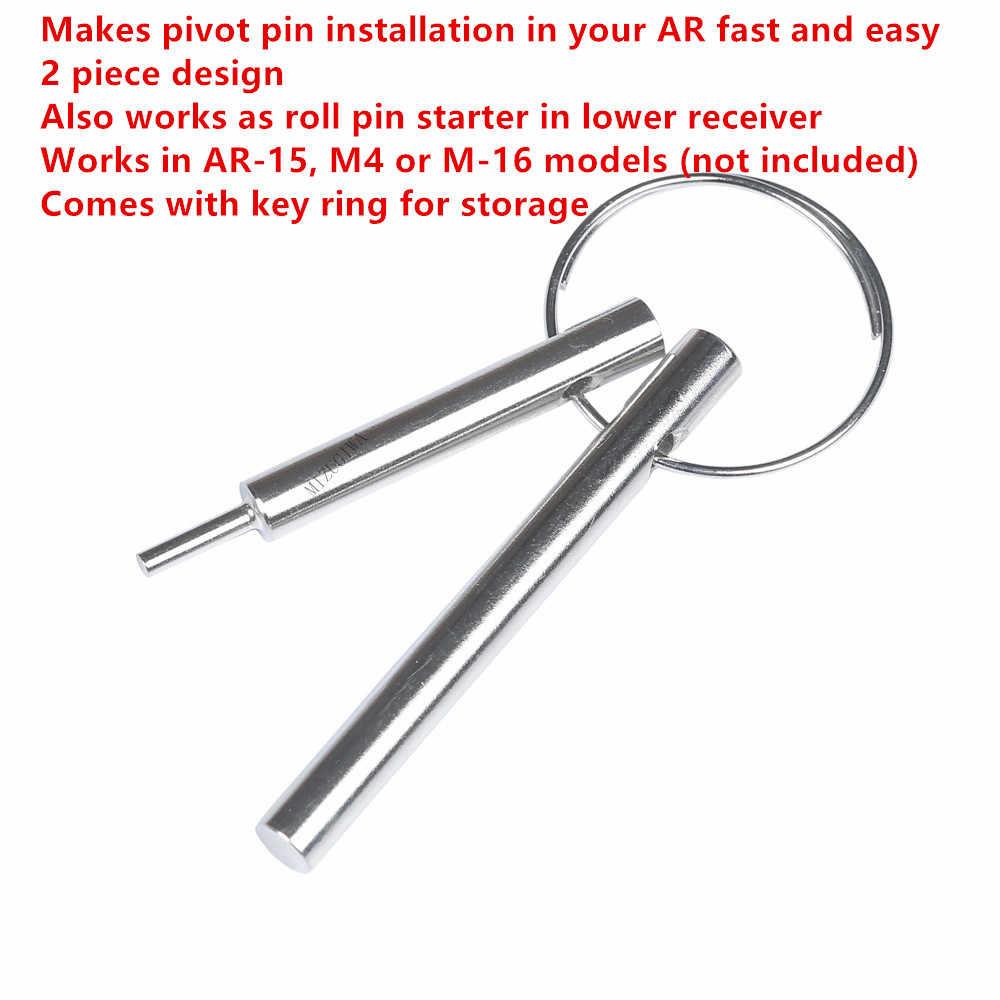 MIZUGIWA AR Pivot Pin kurulum aracı mühendislik Delta serisi AR Pivot Pin kurulum aracı için AR15 M4 M16 rulo kurulum aracı