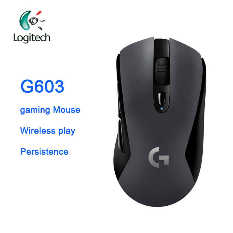 Logitich G603 Gaming Mouse  LIGHTSPEED Optical 12000 DPI Wireless Bluetooth Mouse for PC Laptop Ergonomic Official Agency Test