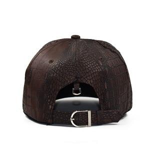 Image 3 - 2020 New Summer Baseball Cap PU Caps Snapback Summer Hip Hop Fitted Cap Hats For Men Women Gorras Mujer Chapeau H07