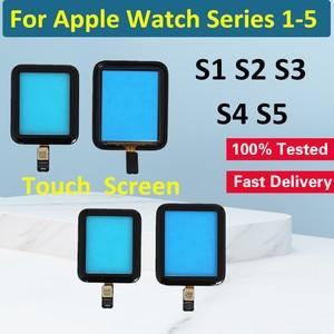 Image 1 - עבור אפל שעון סדרת 2 סדרת 3 38mm 42mm מגע מסך Digitizer עבור אפל שעון סדרת 4 סדרה 5 מגע זכוכית מסך 40MM 44M