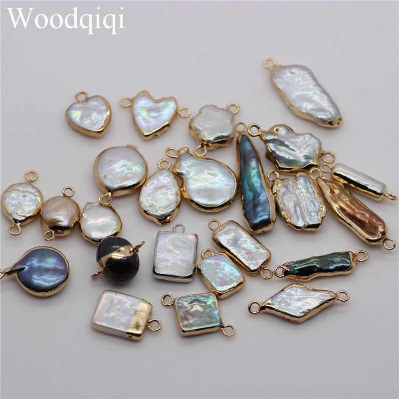 1 stück Natürliche Multicolor Süßwasser Perlen Lose Unregelmäßige Perle Perlen für Schmuck Machen Diy Perle Halskette Armband