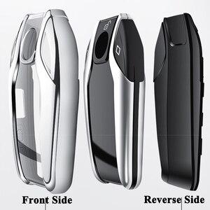 Image 5 - SEEYULE TPU araç LED ekran anahtar kılıfı kapak aksesuarları için BMW 5 6 7 G11 G12 G30 G31 G32 i8 I12 I15 x3 G01 X4 G02 X5 G05 X7 G07
