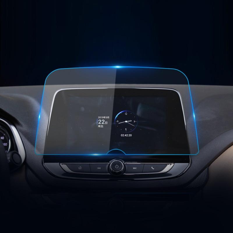 For Chevrolet Cavalier 2016~2018 2019 2020 Tracker 2020~2021 Onix 2021 Car Navigation Screen Protector Film Sticker Accessories