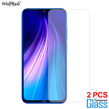 2Pcs Glass For Xiaomi Redmi Note 8 8 Pro Screen Protector Tempered Glass For Xiaomi Redmi Note 8T Glass Protective Phone Film makibes toughened glass screen protector film for xiaomi redmi note 2