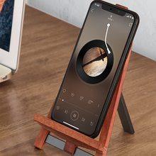 Деревянный мобильный телефон держатель для ipad iphone планшет