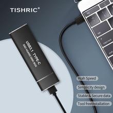 TISHRIC – boîtier pour disque dur externe USB type-c 2.5 HD Optibay, adaptateur pour M2 NGFF/NVME SSD