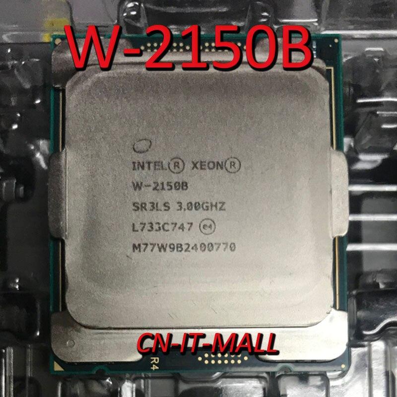 Pulled Xeon W-2150B W2150B CPU 3.0GHz 10 Core 20 Threads LGA2066 Processor