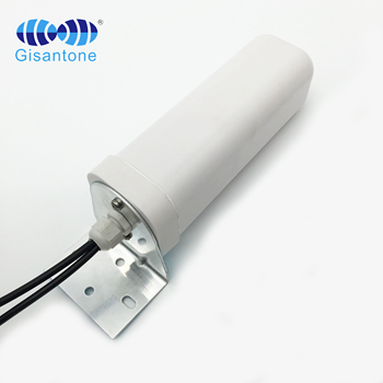 LTE mimo antena 800-2700mhz 6dbi antena z włókna szklanego daleki zasięg antena wifi Mimo 4g antena zewnętrzna tanie i dobre opinie YANTAITONG CN (pochodzenie) 2*4 6DBI G14414A 698-960 1710-2700MHz 2*SMA male 2*5M LMR200 63x240mm 48*22*8CM 2pcs 1 4Kg