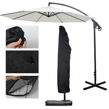 цена на Outdoor Garden Banana Umbrella Cover Waterproof Oxford Cloth Patio Overhang Parasol Rain Cover Accessories Rain Gear cheap YH