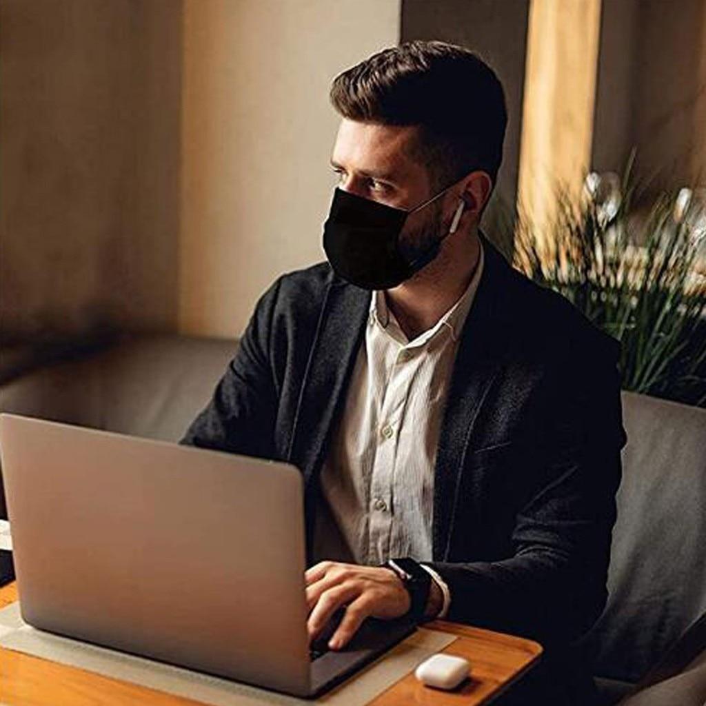 1/2/10/20 pces preto rosa amarelo máscara protetora à prova proteger rosto boca capa ao ar livre para segurar seguro máscara facial para ao ar livre 3