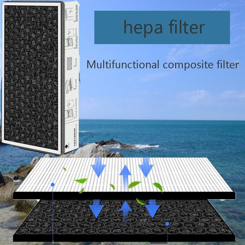 Double Effect Composite Carbon Filter For Xiaomi Mijia MJXFJ-300-G1 Air Purifier Air Purifier Deodorization Air Purifier Parts