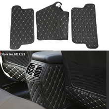 цена на Car Rear Seat Anti-Kick Pad Rear Seats Cover Back Armrest Protection Mat For Hyundai Tucson 2015 2016 2017 2018 Car Accessories