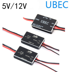 new 5V/12V 3A UBEC Support 2-6S/3-6S Lipo Battery Fully Shielded Anti-interference Voltage Stabilizer Rc Helicopter Quadcopter