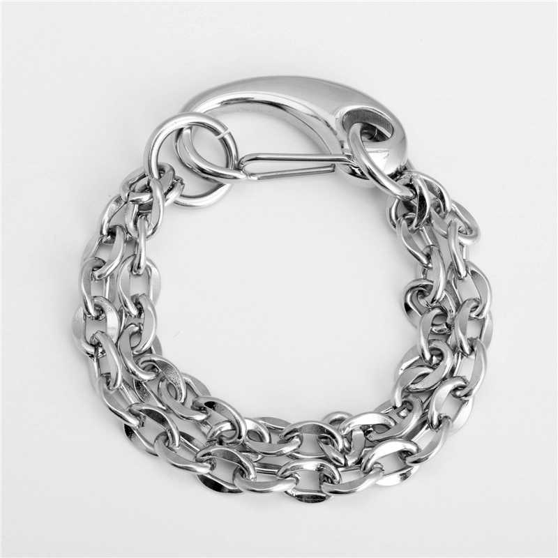 bracelet homme Stainless steel bracelet/couple/women/punk/bileklik/femmeStainless Steel Bracelet pulsera hombre for women