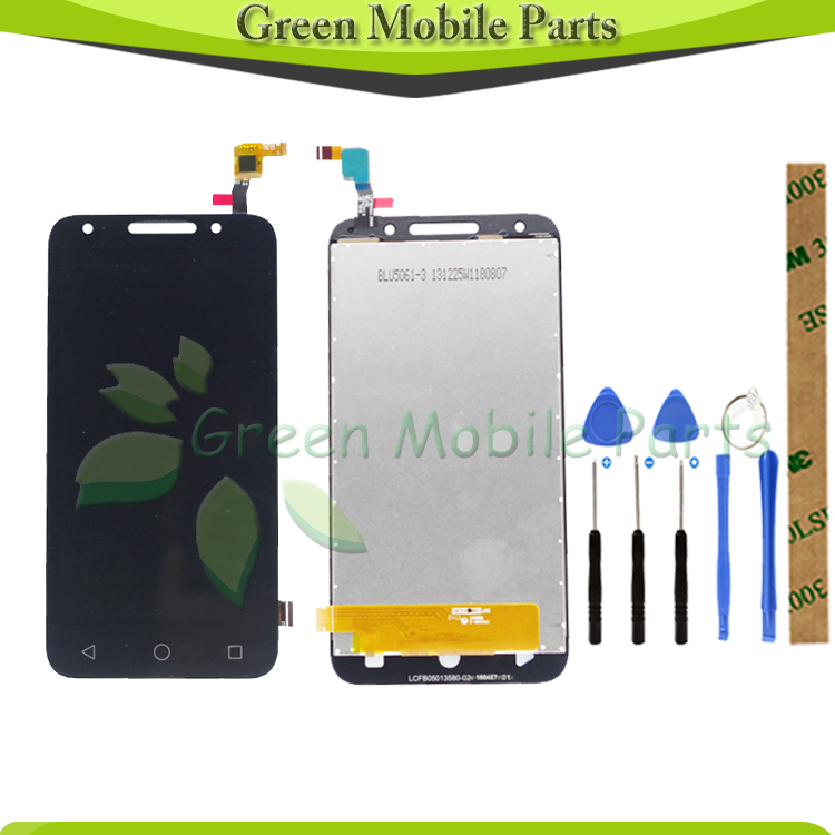 100% Tested Touch Screen For Alcatel One Touch U5 5044 5044D 5044I 5044T 5044Y OT5044   LCD Display Touch Screen Assembly|Mobile Phone LCD Screens| |  - title=
