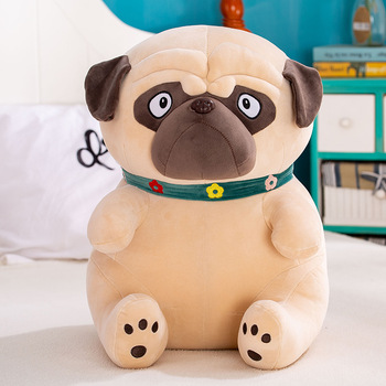 35/45/55 cm Plush Animal Toy Pug-dog, Stuffed toy Sharpei, Sand Dogs Doll, Simulation Dogs, Lovely Puppy Pet Toy, New Year Gifts cute sharpei with hat plush toy stuffed puppy cosplay pet toy plush animal toy children kids birthday christmas gifts