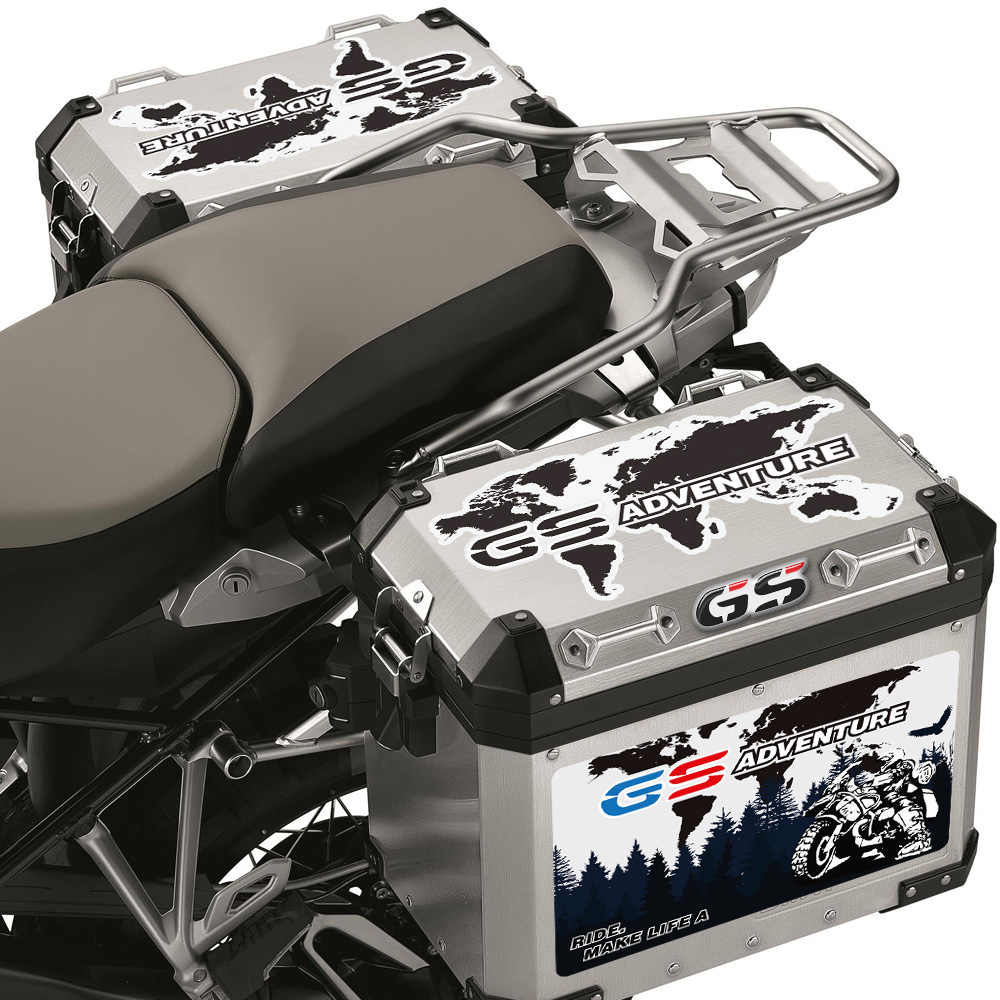 Color : for Side Cases Ayame for R1200GS R1250GS Side Case Pads Motorcycles Pannier Cover Set for Luggage Cases Fit for BMW R1200GS LC Adventure ADV R 1250 GS