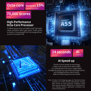 Image 2 - Teclast P80X 4G планшет Android 9,0 нетбук фаблет Планшеты 8 дюймов 1280x800 SC9863A Восьмиядерный 2 Гб RAM 32 ГБ ROM GPS Двойная камера