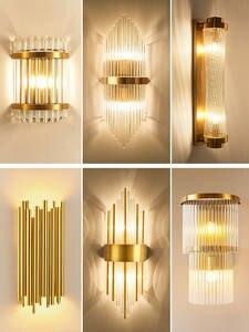 Wall-Lights Fixtures Decoration Bedside Bedroom Living-Room Modern Ce for Led