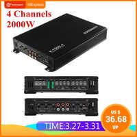2000W 4 Canali Auto Amplificatore Altoparlante Veicolo Amplificatore di Potenza Stereo Amplificatore Auto Amplificatore di Potenza Audio Amplificatore Audio Per Auto