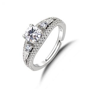 Romantic 925 Silver Ring Zirco