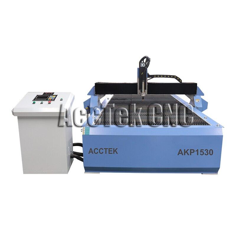 Heißer verkauf ACCTEK 1530 Cnc Plasma Schneiden Maschine mit Plasma THC