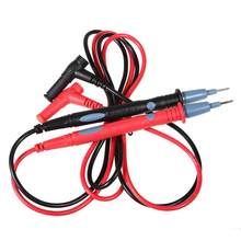 1 Pair Universal 1000V 20A Probe Test Leads Pin for Digital Multimeter Needle Tip Meter Multi Meter Tester Lead Probe 86cm(China)