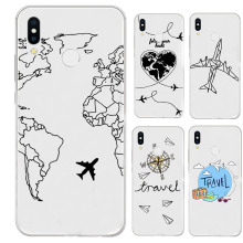 Phone Case For Xiaomi 8 SE 9 mi5 mi5s Silicone Coque Transparent Soft Clear Cover RedMi 4 A 4X 5 5A