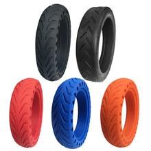 Para xiaomi scooter elétrico pneu durável 8 1/2*2 tubo interno frente traseira painço usar cor pneu sólido scooter elétrico pneu de borracha
