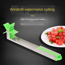 muti function fruit slicer melon watermelon slicer melon cutter practical fruit kitchen tool Newest Watermelon Cutter Multi Melon Slicer Cutting Machine Stainless Steel Windmill Fruit Household Artifact Kitchen Tools