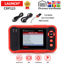 Launch CRP123 Obd2 Obdii Code Reader Scanner Engine Abs Airbag Transmissie Auto Diagnostic Tool Meertalige Gratis Update Online(China)