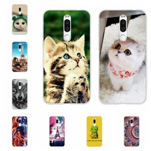 цена на For Meizu X8 Protective Case Ultra-thin Soft TPU Silicone For Meizu X8 Cover Cute Cartoon Patterned For Meizu X8 Bumper Coque