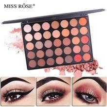 Miss ross 35 цветов матовые перламутровые диски для макияжа