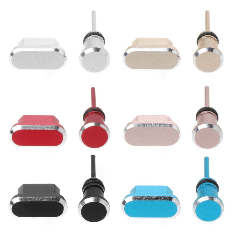 Micro USB Charging Port Earphone Jack Plugs Jackets Catches Dust Proof Hooks Recover SIM Tool SmartPhone Accessories for Android